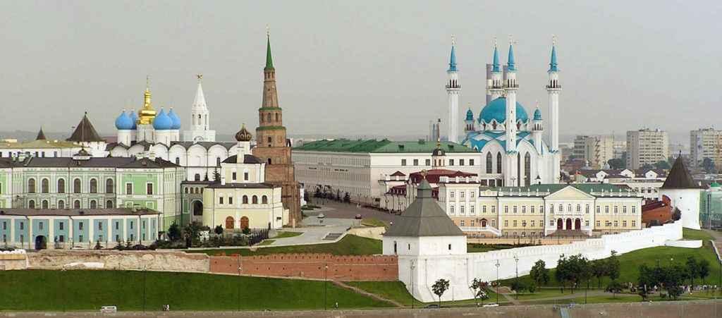 Сердце города – древний Казанский Кремль